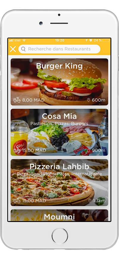 Glovo Application Mobile de livraison